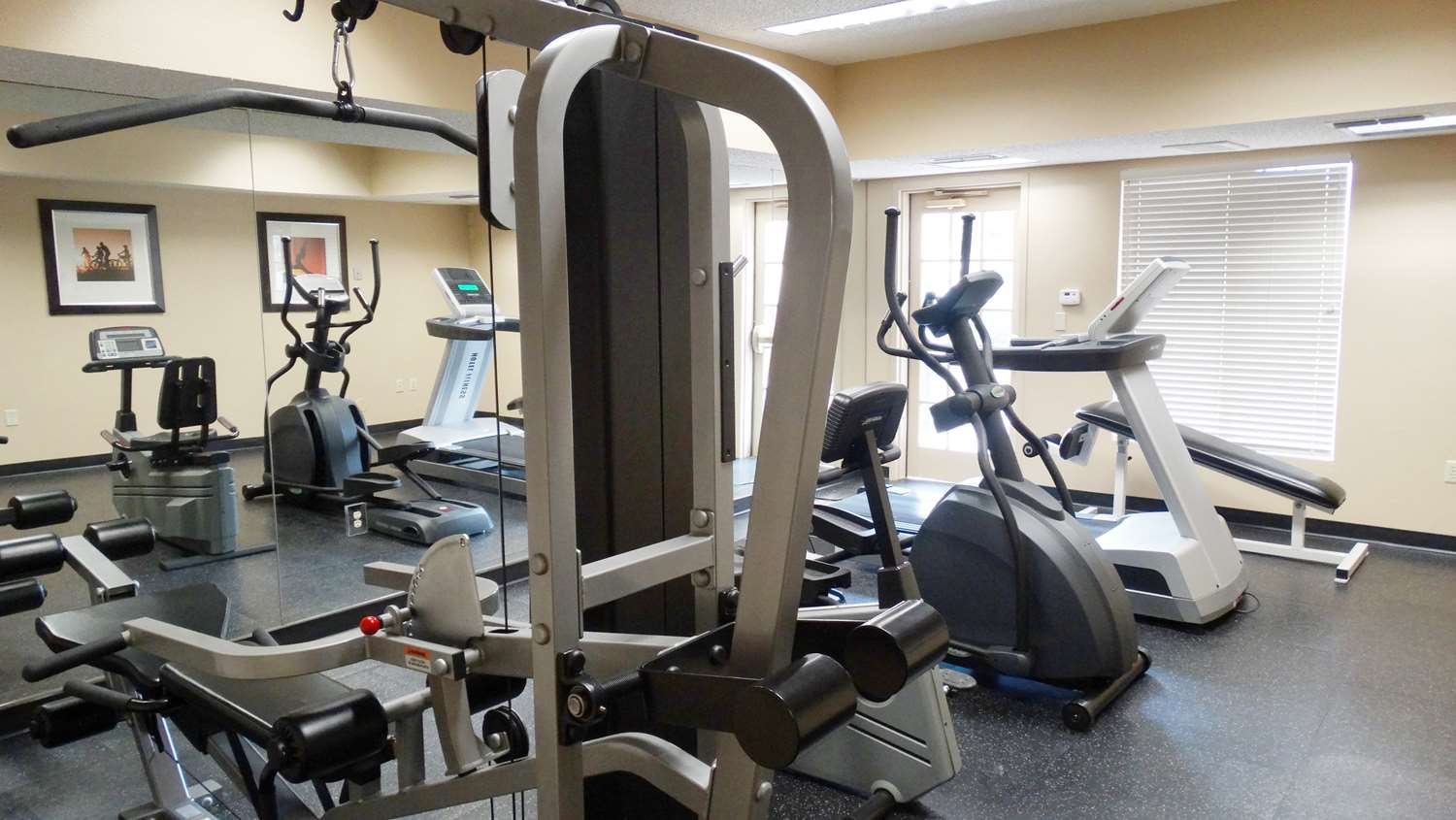 Fitness/ Exercise Room - Extended Stay America Hotel Frankford Road Dallas