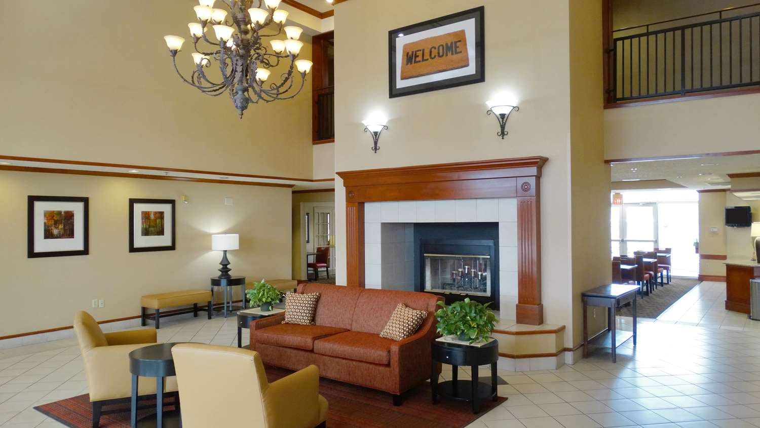 Lobby - Extended Stay America Hotel Frankford Road Dallas