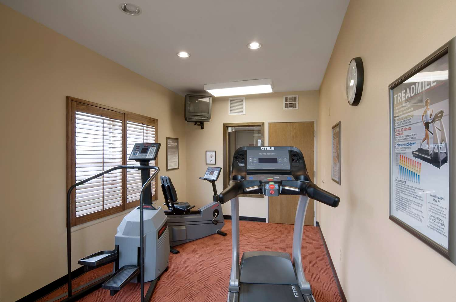 Fitness/ Exercise Room - Extended Stay America Hotel Greenwood Village