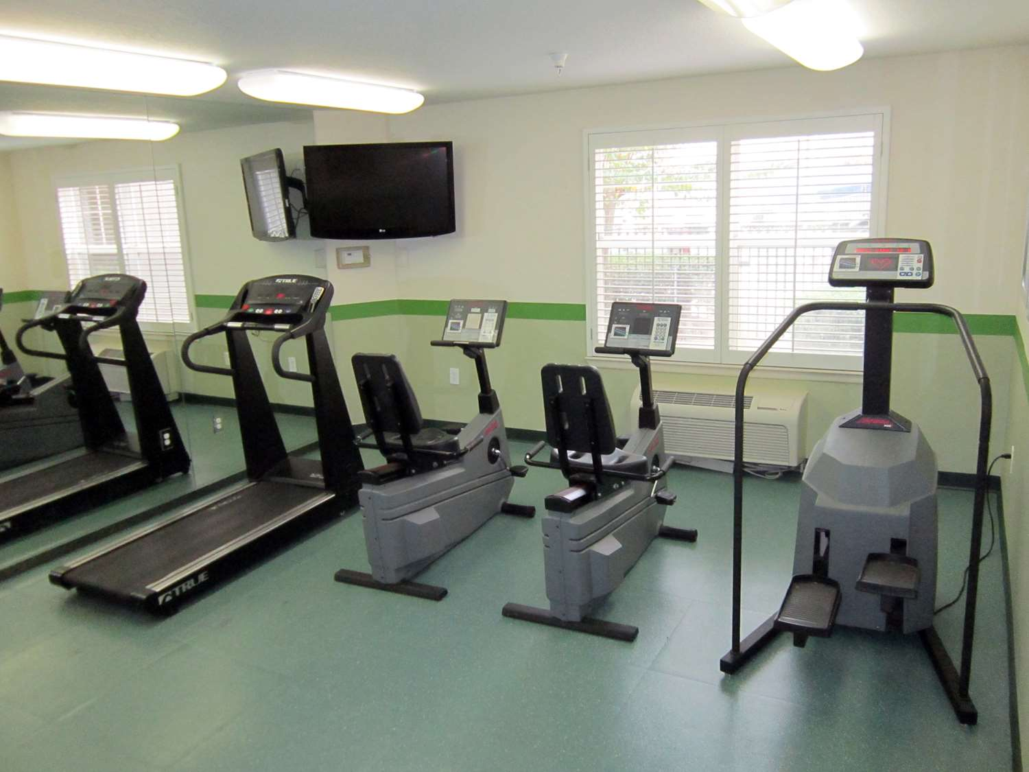 Fitness/ Exercise Room - Extended Stay America Hotel Commodity Circle Orlando