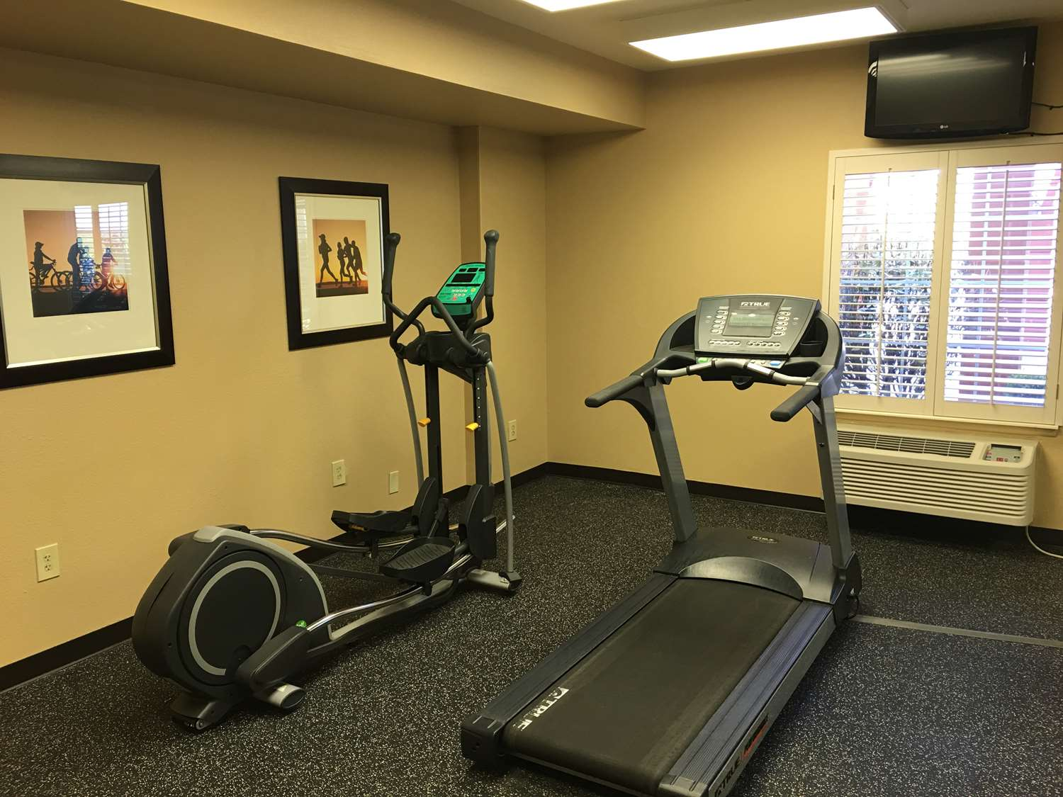 Fitness/ Exercise Room - Extended Stay America Hotel Metcalf Overland Park