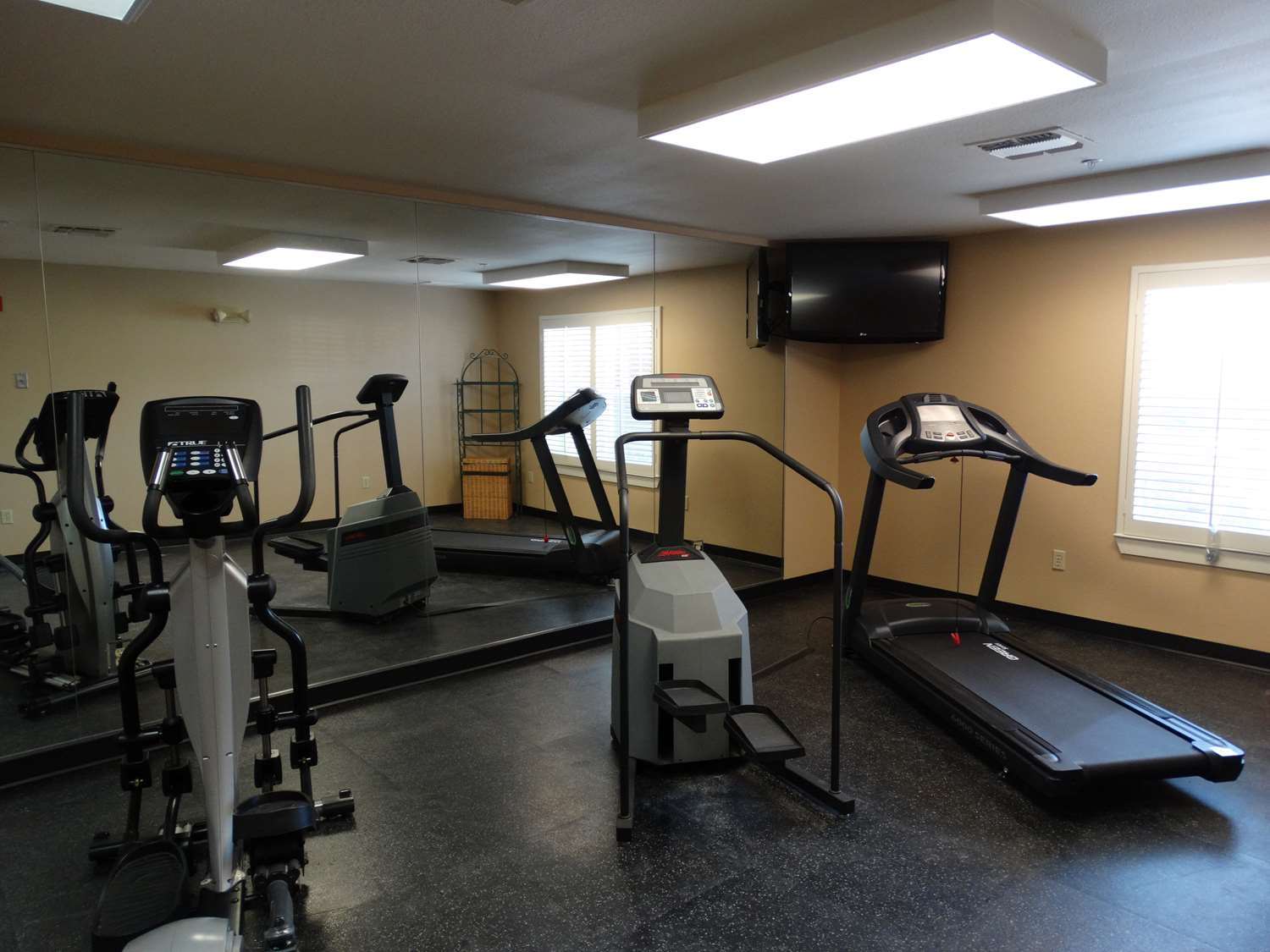Fitness/ Exercise Room - Extended Stay America Hotel Plano Northwest