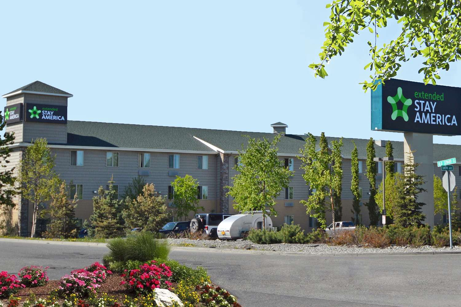 Exterior view - Extended Stay America Hotel Midtown Anchorage