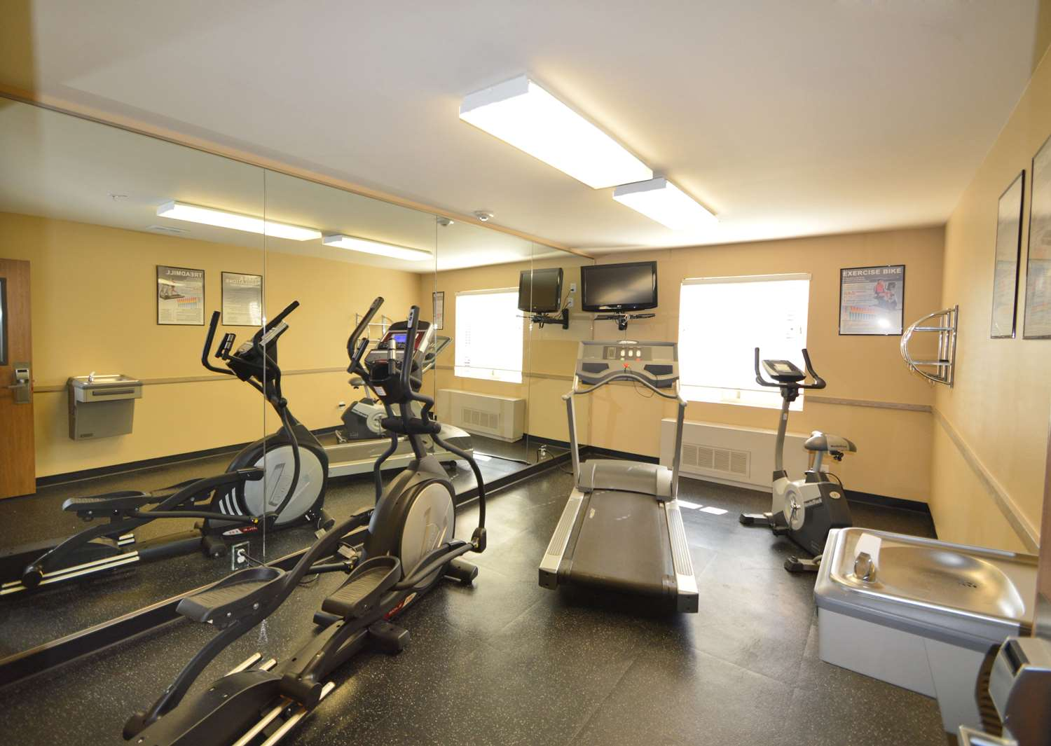 Fitness/ Exercise Room - Extended Stay America Hotel Midtown Anchorage