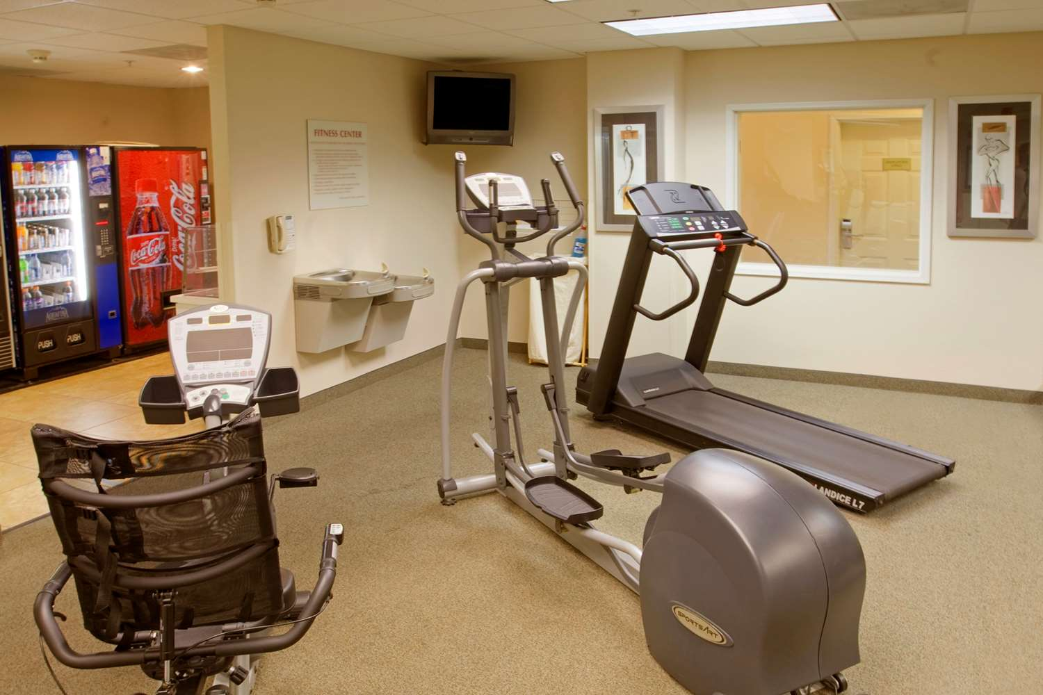 Fitness/ Exercise Room - Extended Stay America Hotel Chester Lane Bakersfield