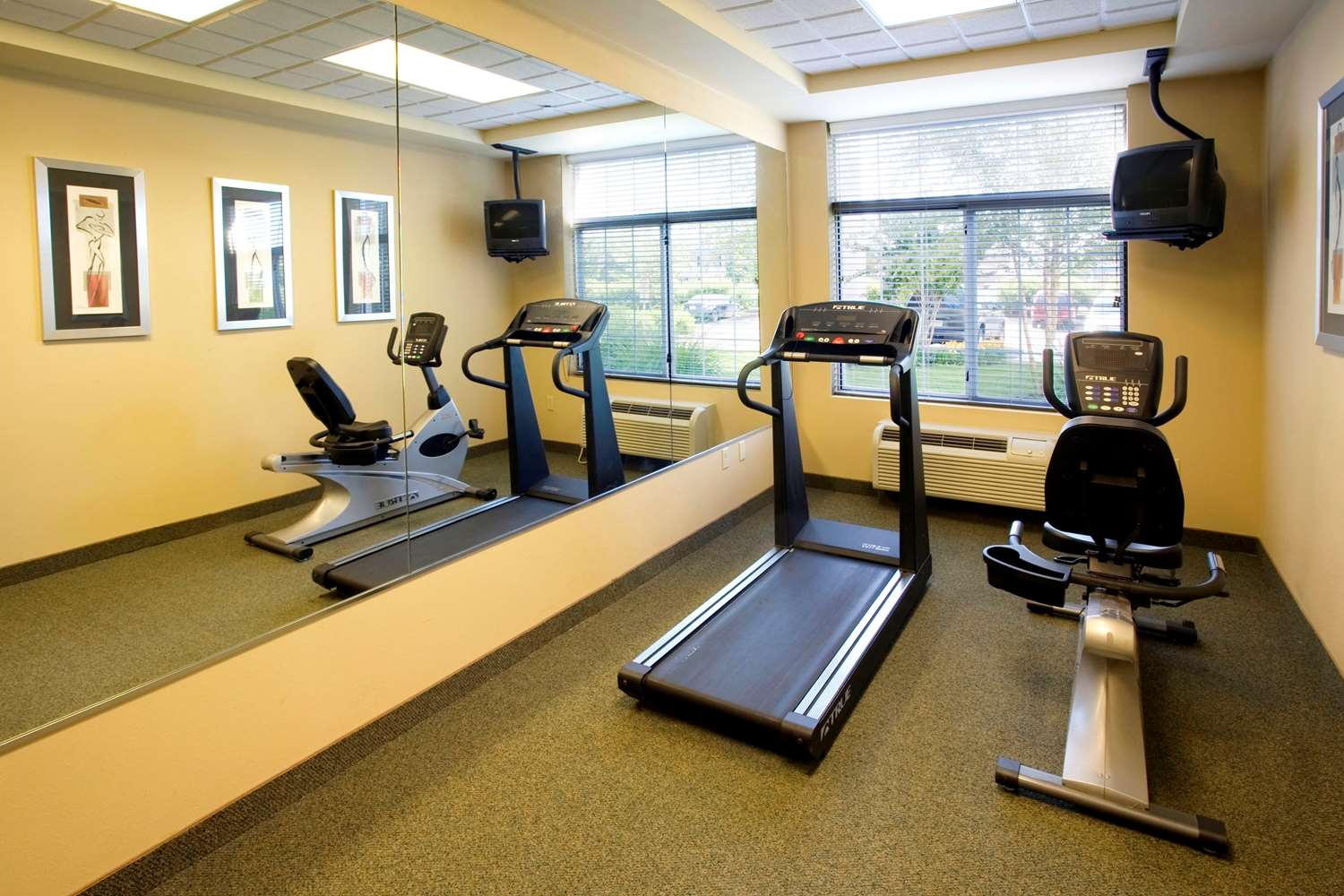 Fitness/ Exercise Room - Extended Stay America Hotel Greenbrier Chesapeake