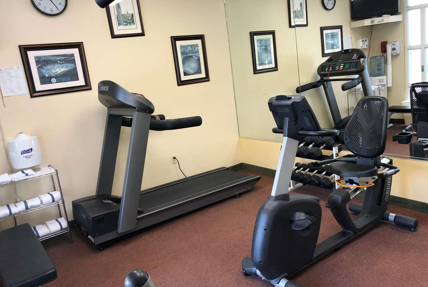 Fitness/ Exercise Room - Hom Hotel & Suites Gainesville