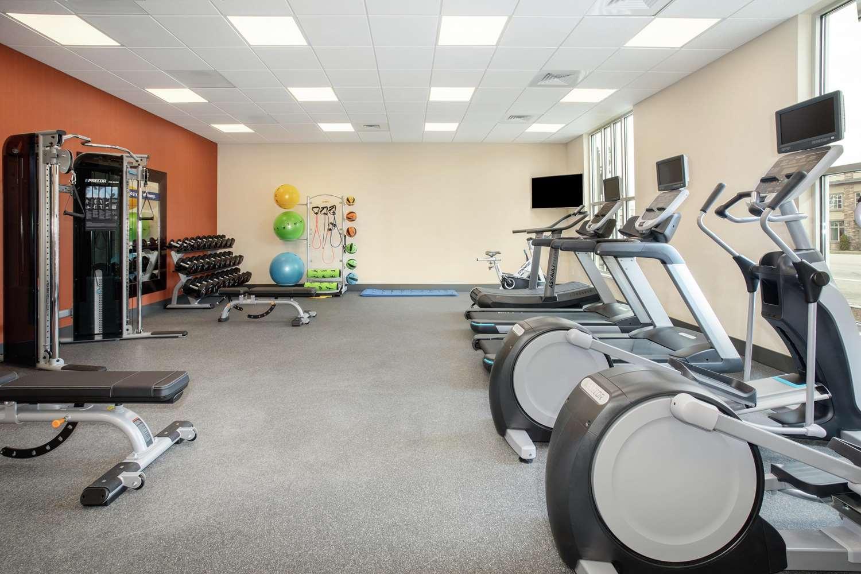 Fitness/ Exercise Room - Hampton Inn & Suites Logan