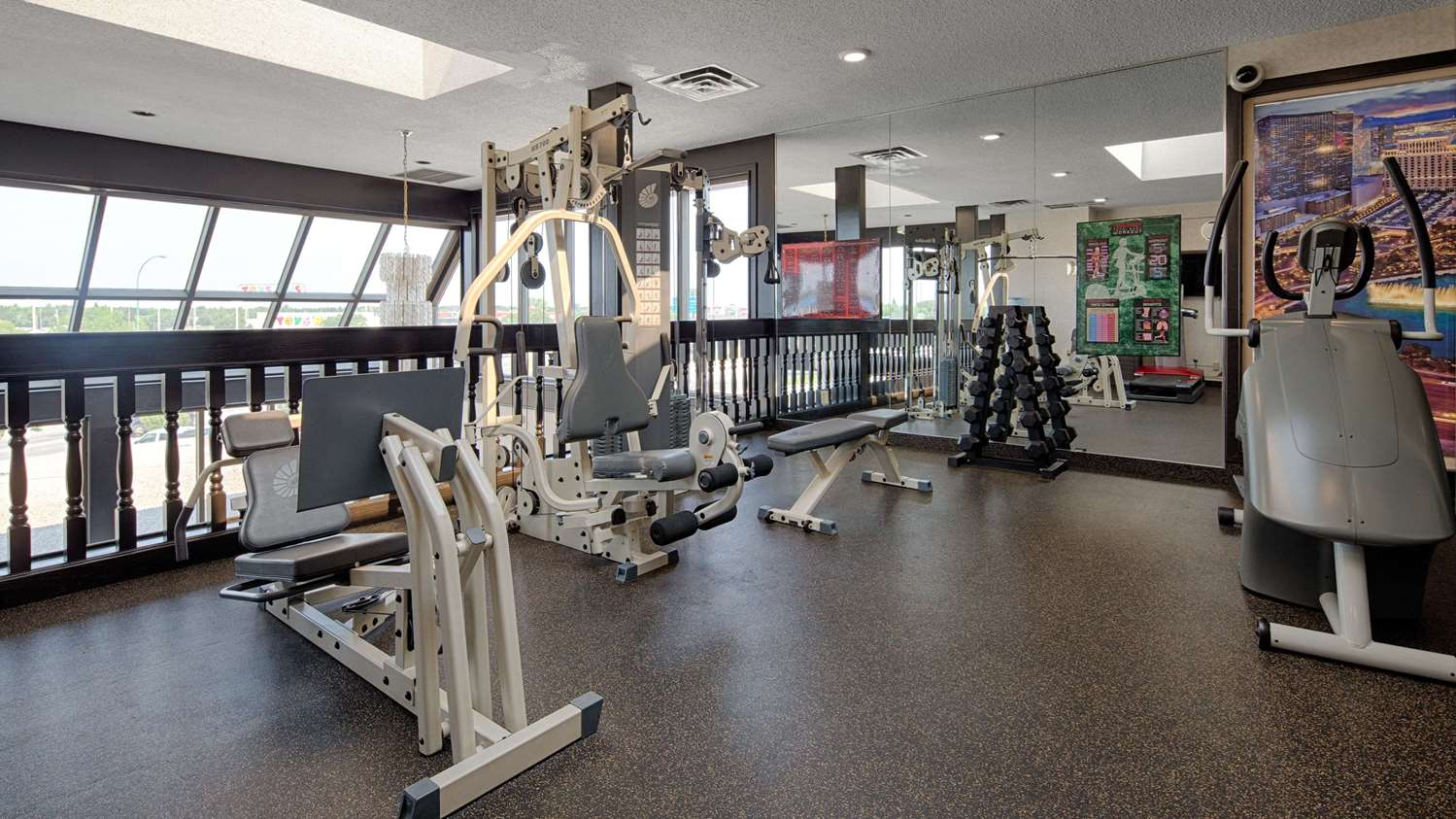 Fitness/ Exercise Room - SureStay Plus Hotel by Best Western Airport Regina