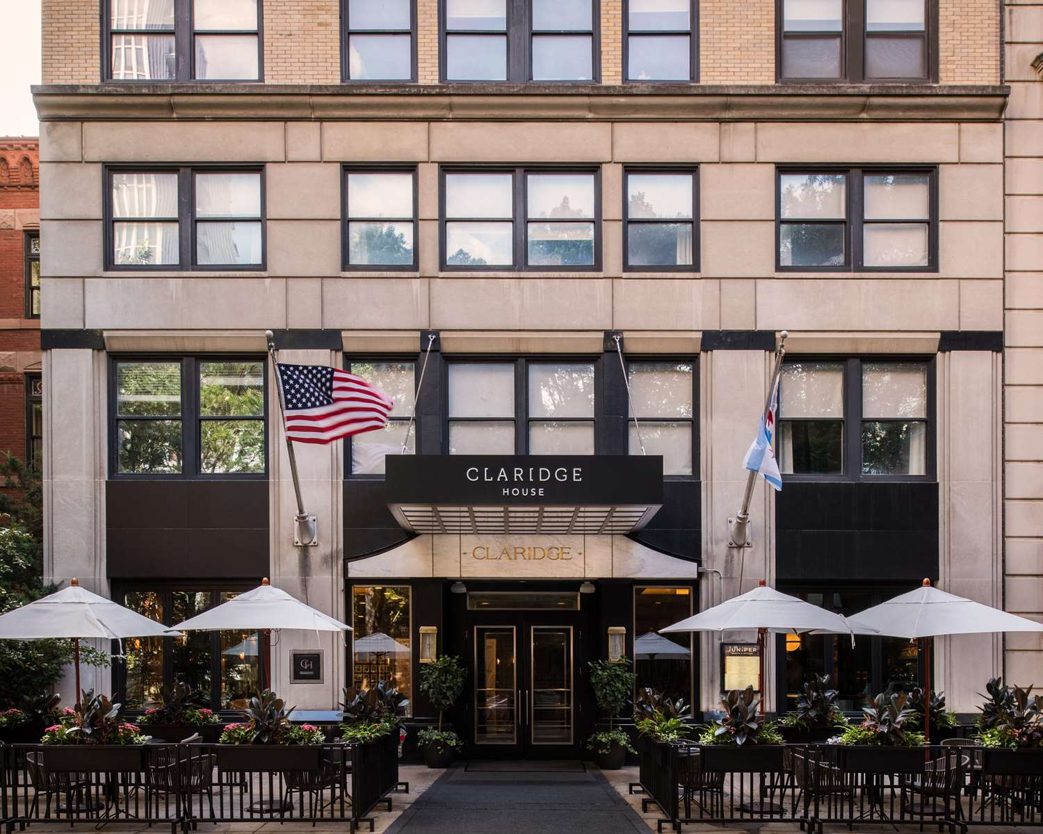 Exterior view - Claridge House Hotel Downtown Gold Coast Chicago