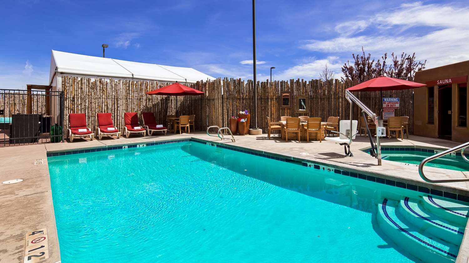 Pool - SureStay Collection by Best Western Inn at Santa Fe