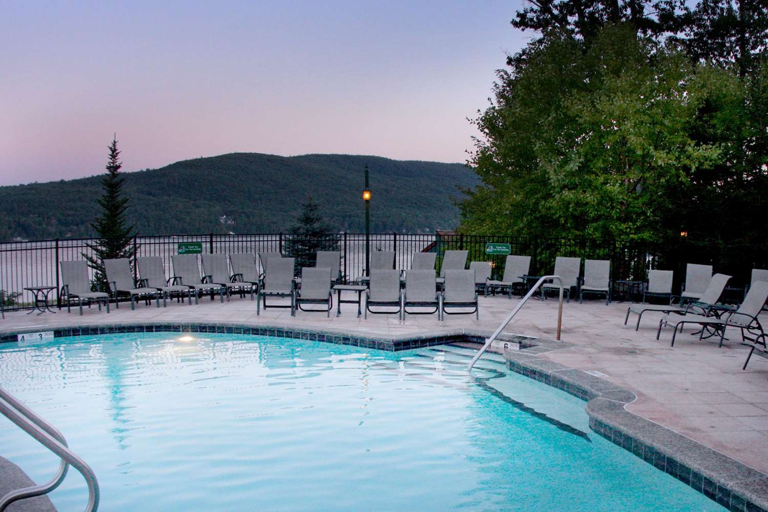 Pool - Lodges at Cresthaven Lake George