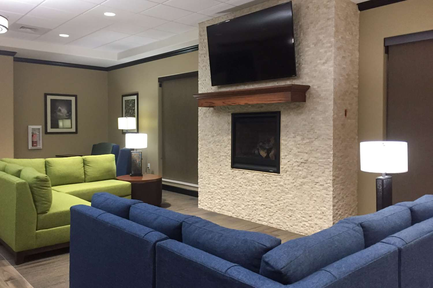 Lobby - Comfort Suites Liberal