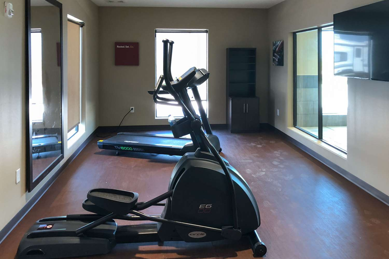 Fitness/ Exercise Room - Comfort Suites Liberal