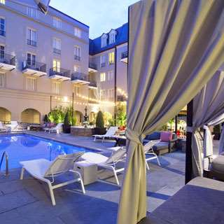 Pool - Maison Dupuy French Quarter Hotel New Orleans