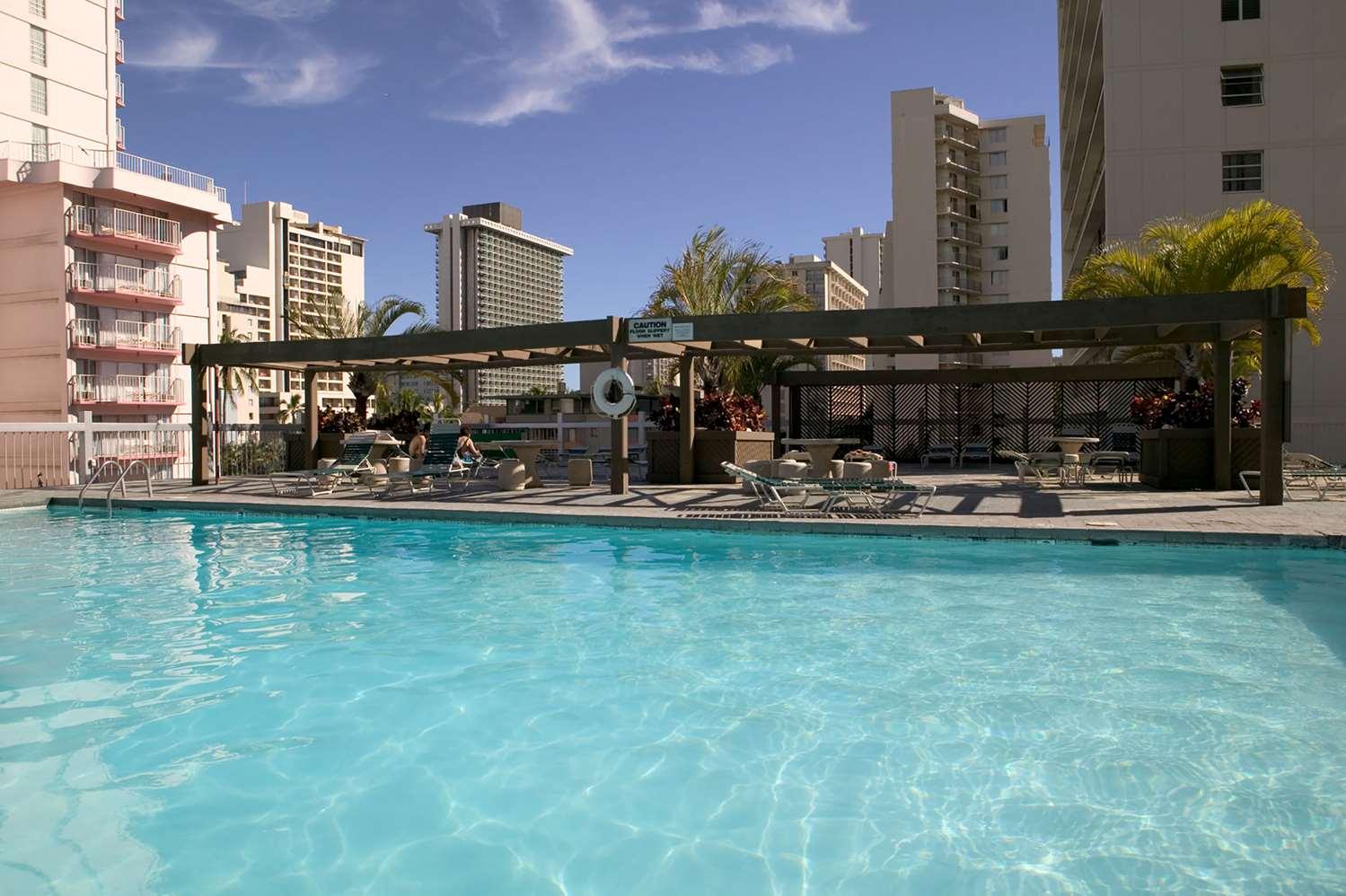 Pool - Aqua Skyline at Island Colony Hotel Waikiki Honolulu