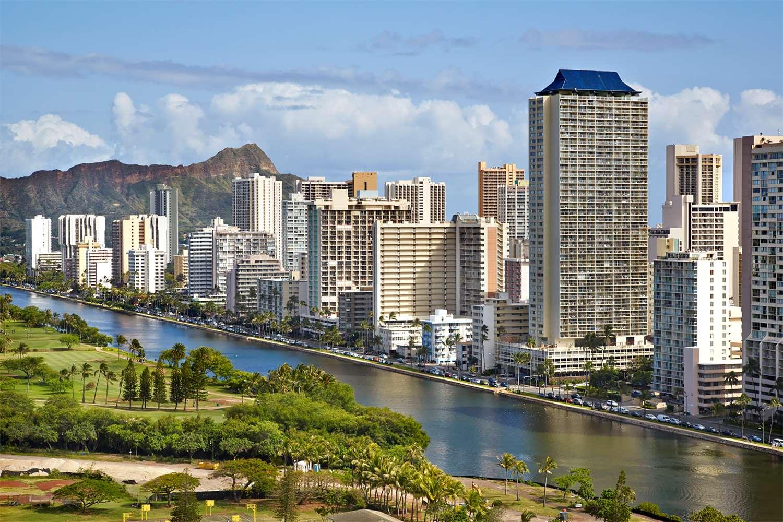 Exterior view - Aqua Skyline at Island Colony Hotel Waikiki Honolulu