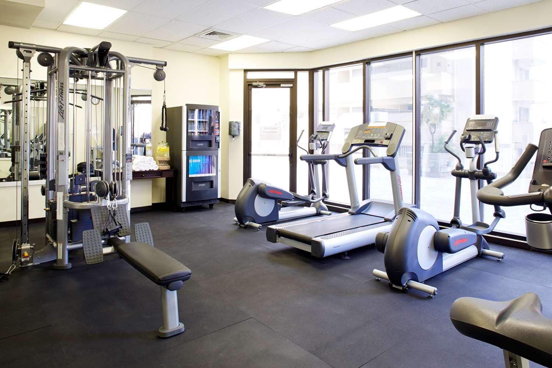 Fitness/ Exercise Room - Aqua Skyline at Island Colony Hotel Waikiki Honolulu