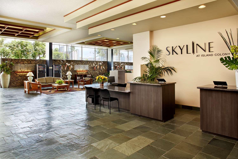 Lobby - Aqua Skyline at Island Colony Hotel Waikiki Honolulu