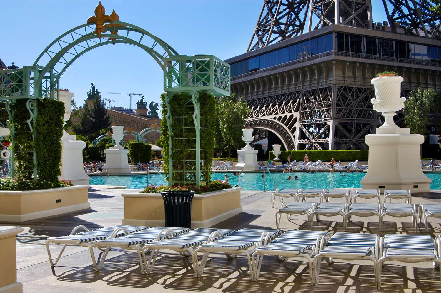 Pool - Paris Resort & Casino Las Vegas