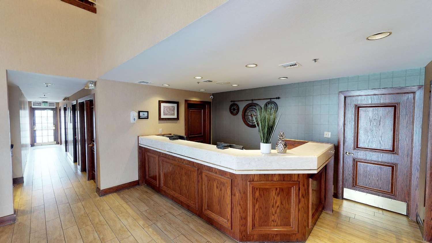 Lobby - Chase Suite Hotel Brea