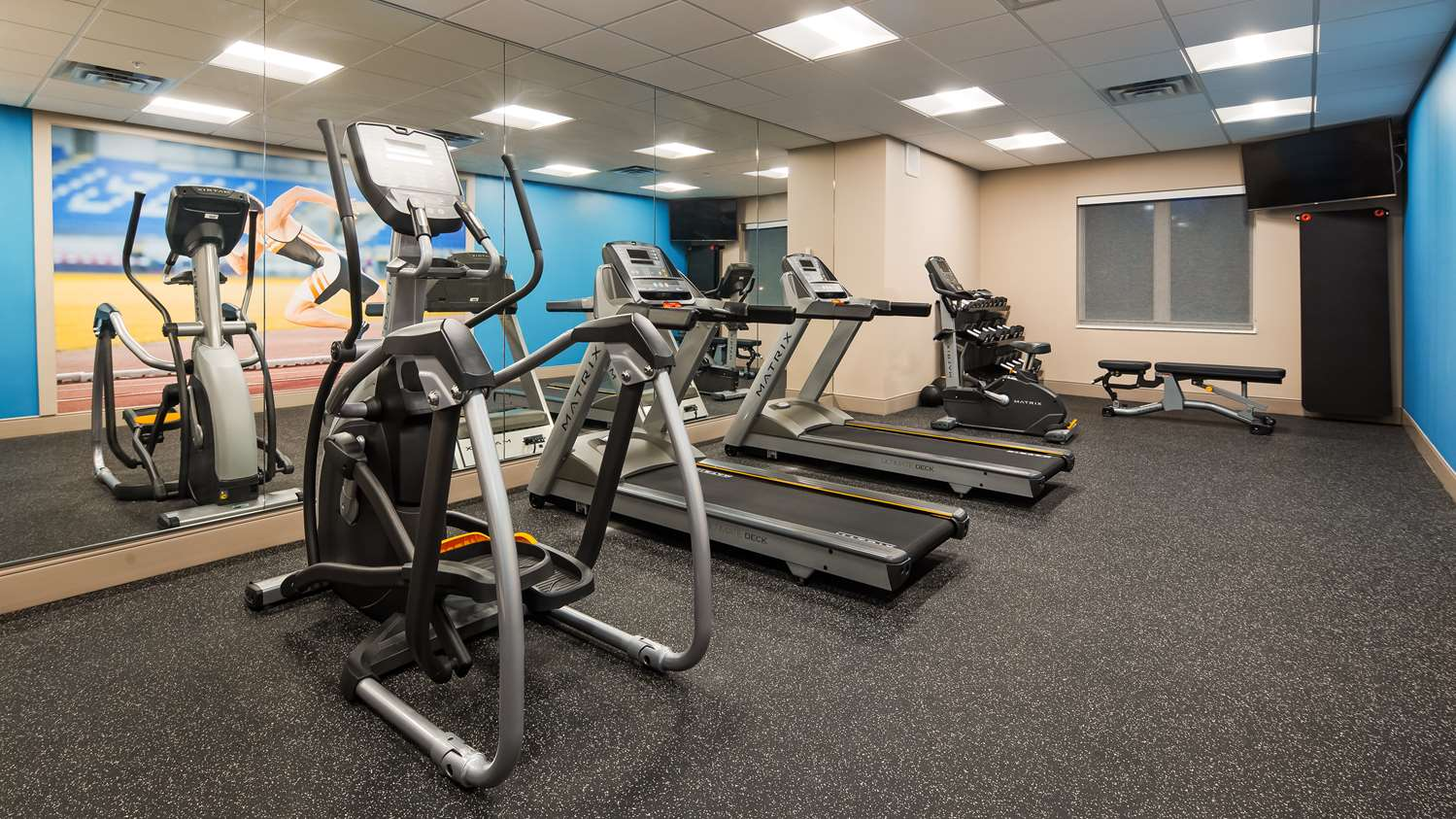 Fitness/ Exercise Room - Best Western Plus Isanti Hotel