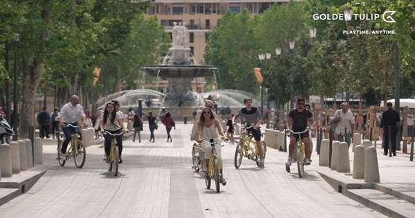 Aix-en-Provence en tandems !