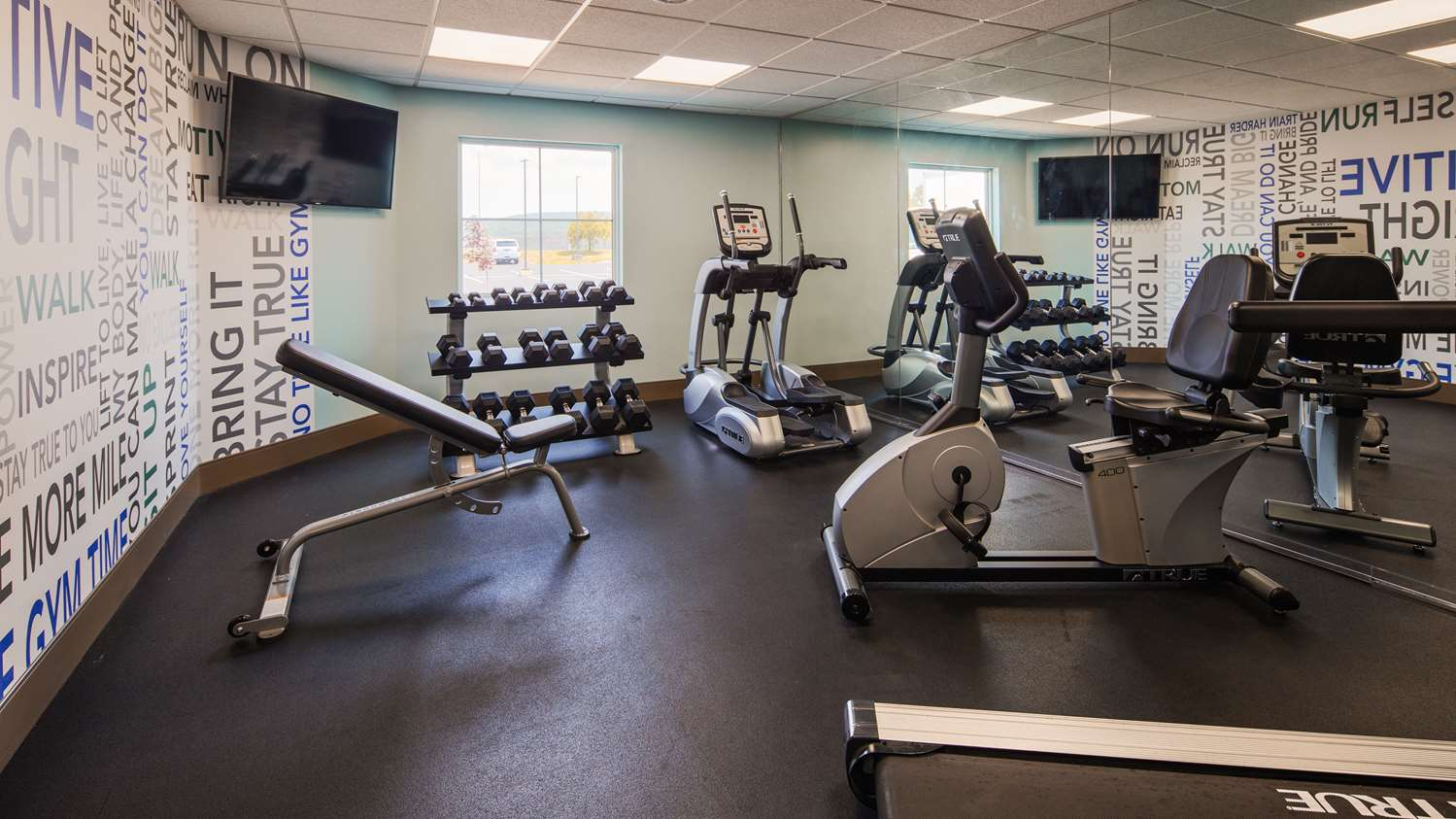 Fitness/ Exercise Room - Best Western Plus Wilkes Barre Scranton Airport Hotel Pittston