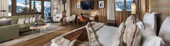 فندق HOTEL BARRIERE LES NEIGES COURCHEVEL