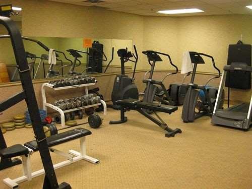 Fitness/ Exercise Room - Lake Louise Inn