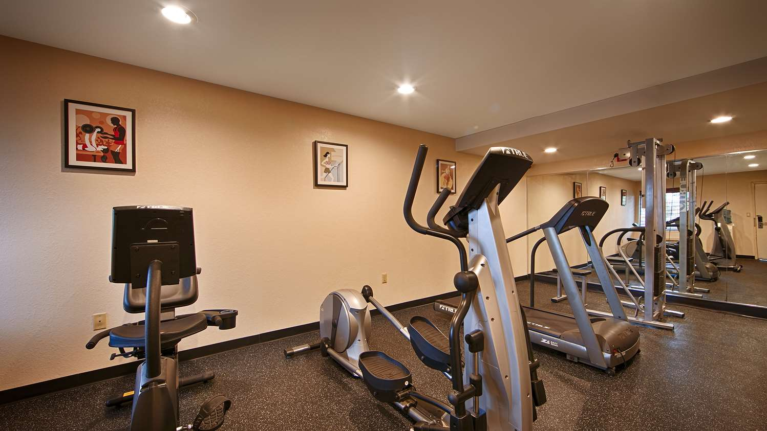 Fitness/ Exercise Room - Best Western Hotel East Brunswick