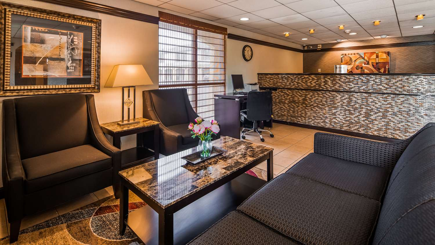Lobby - Best Western Hotel East Brunswick