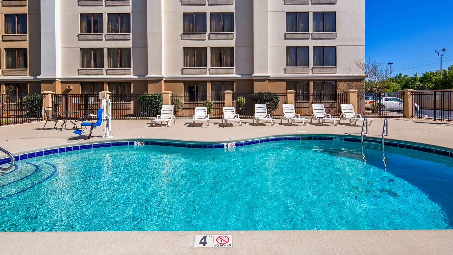 Pool - SureStay Plus Hotel by Best Western Jacksonville