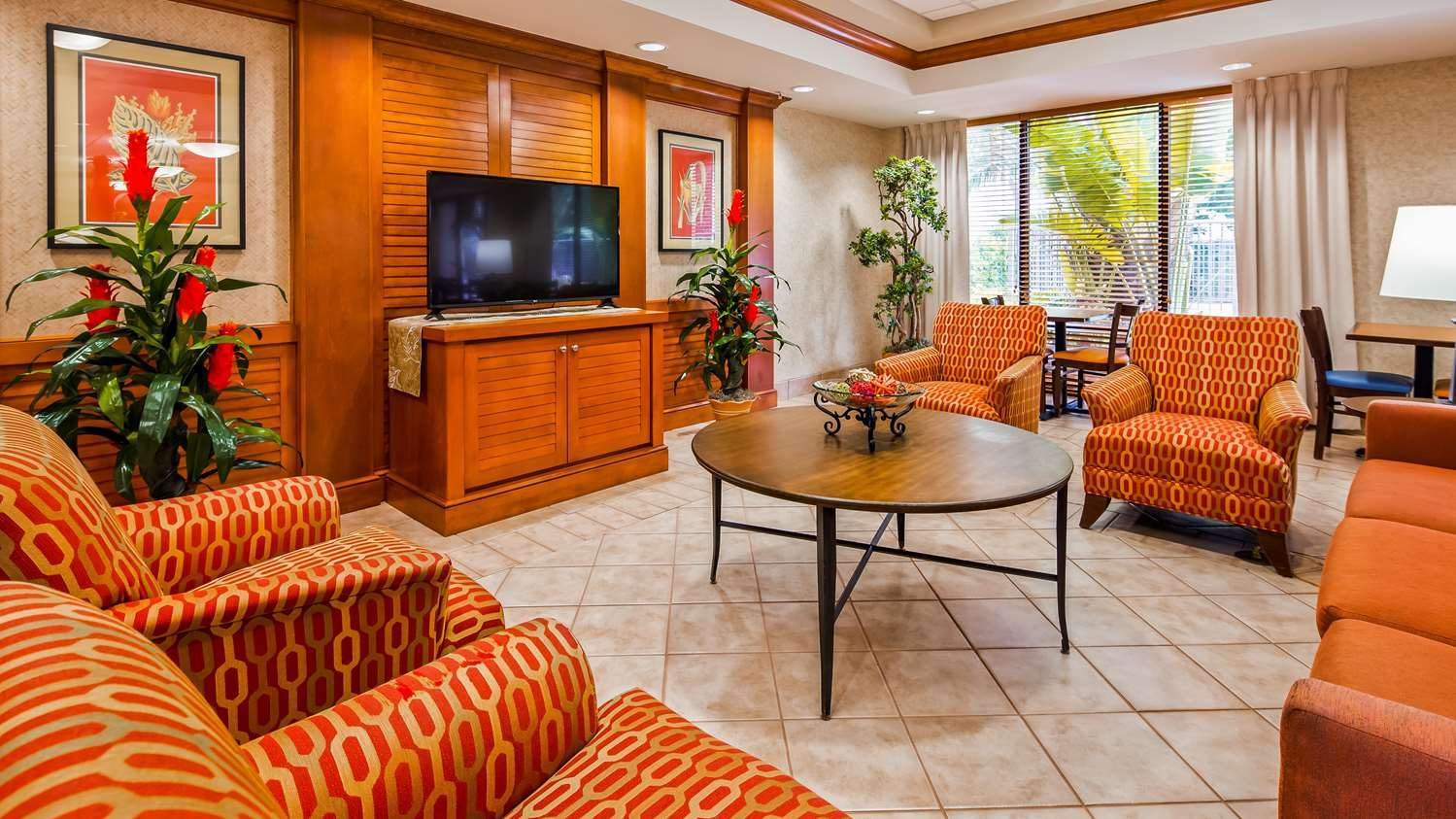 Lobby - Best Western Plus Kendall Hotel & Suites