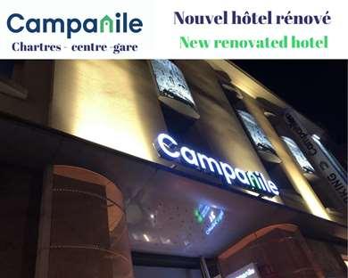 Hôtel CAMPANILE CHARTRES CENTRE - Gare - Cathédrale