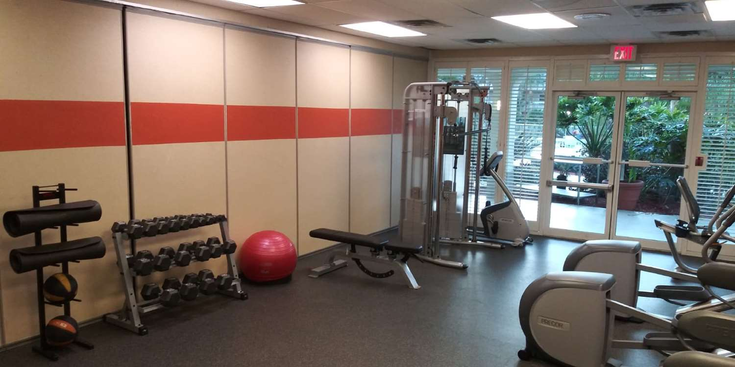 Fitness/ Exercise Room - SureStay Plus Hotel by Best Western Clearwater Central