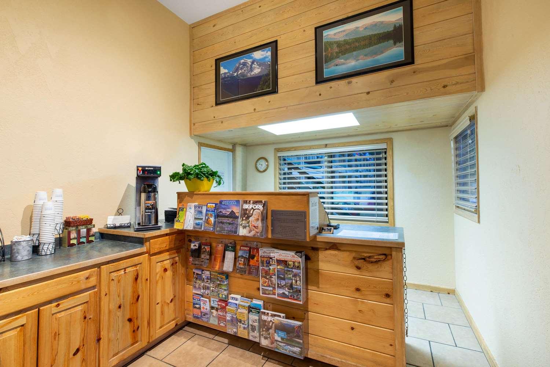 Lobby - Timbers Motel Travelodge Bigfork