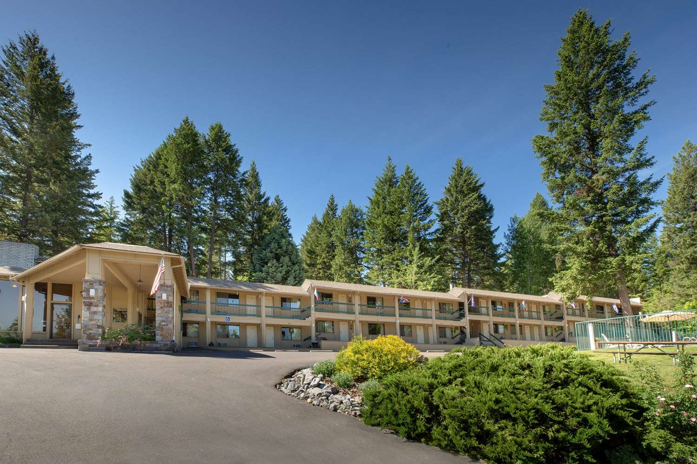 Exterior view - Timbers Motel Travelodge Bigfork