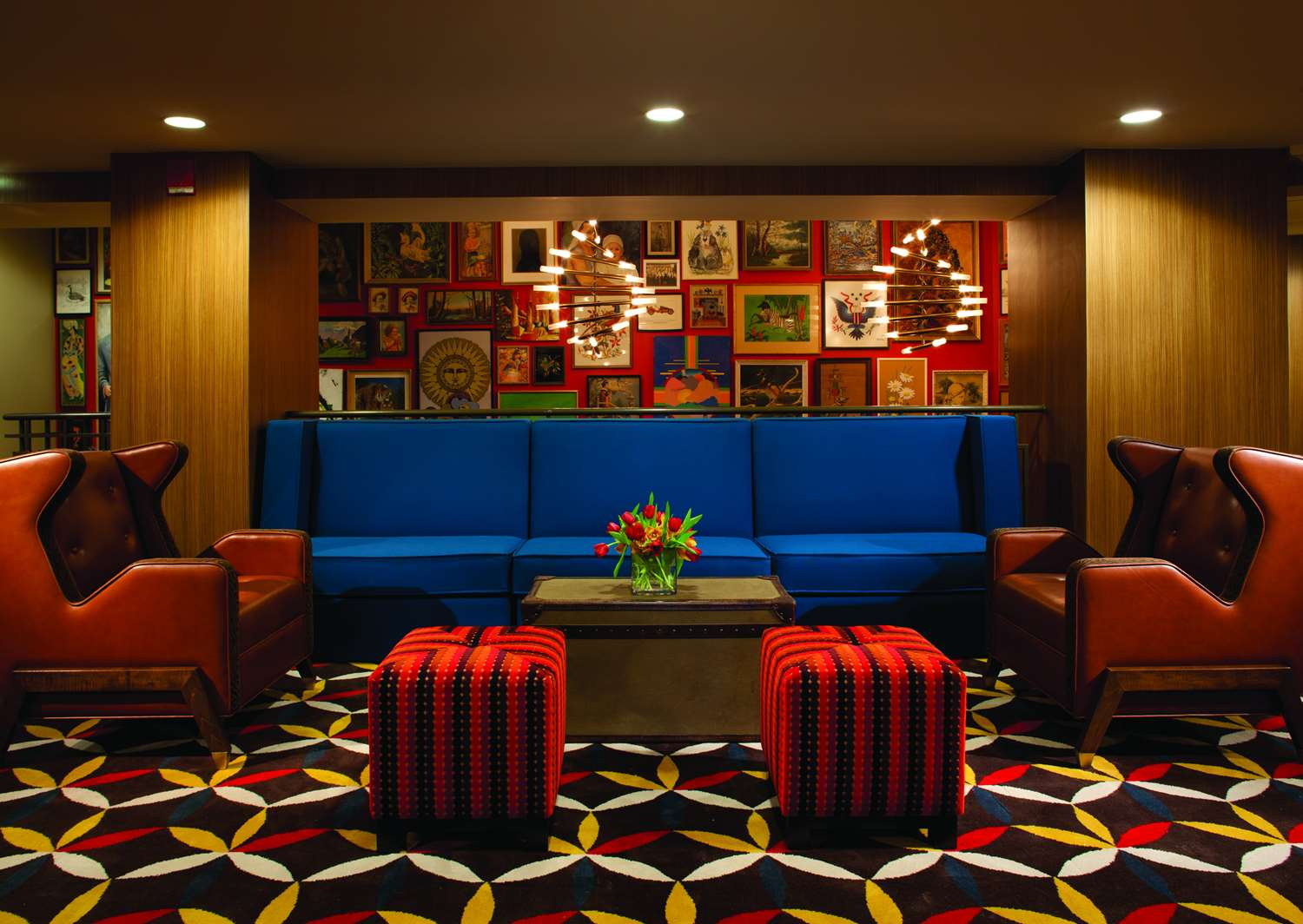 Lobby - Hotel Lincoln Chicago