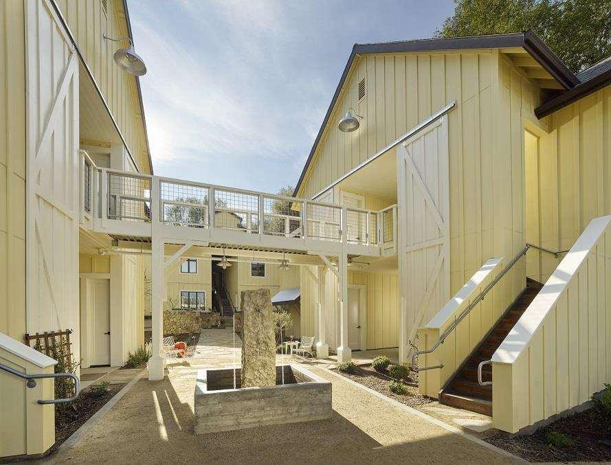 Exterior view - Farmhouse Inn & Restaurant Forestville