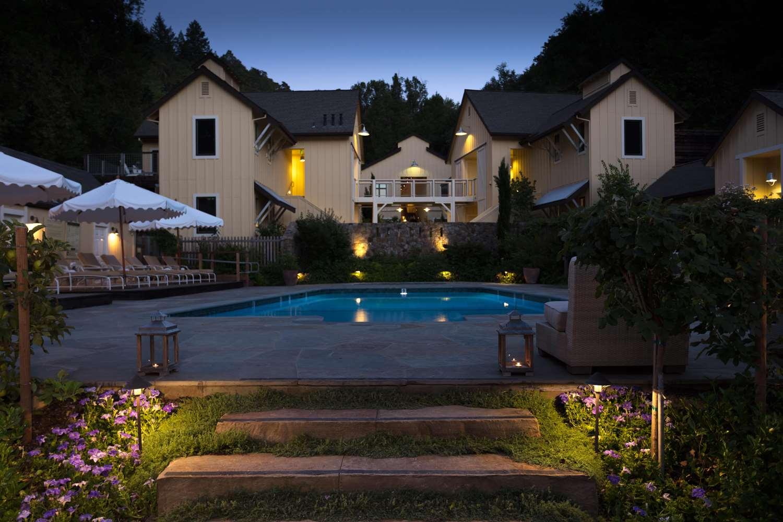 Pool - Farmhouse Inn & Restaurant Forestville