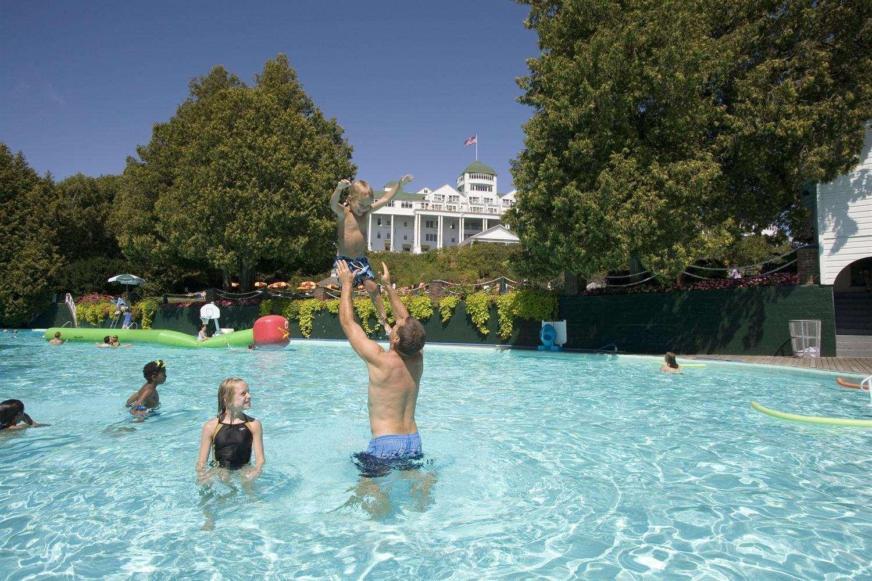 Pool - Grand Hotel Mackinac Island