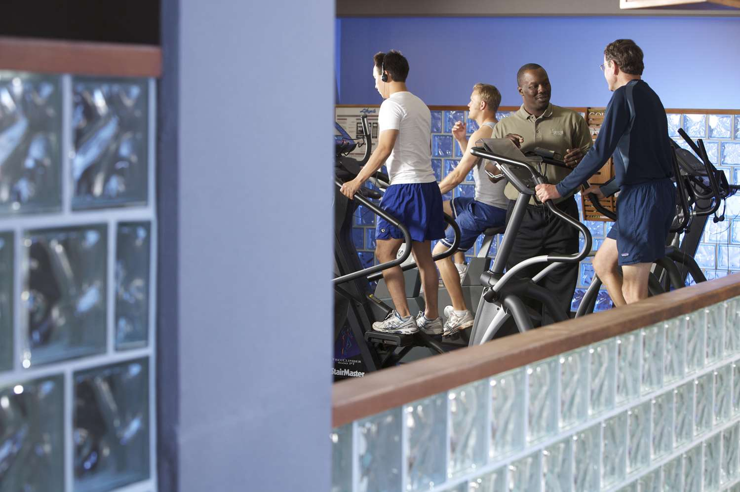 Fitness/ Exercise Room - Hotel Captain Cook Anchorage