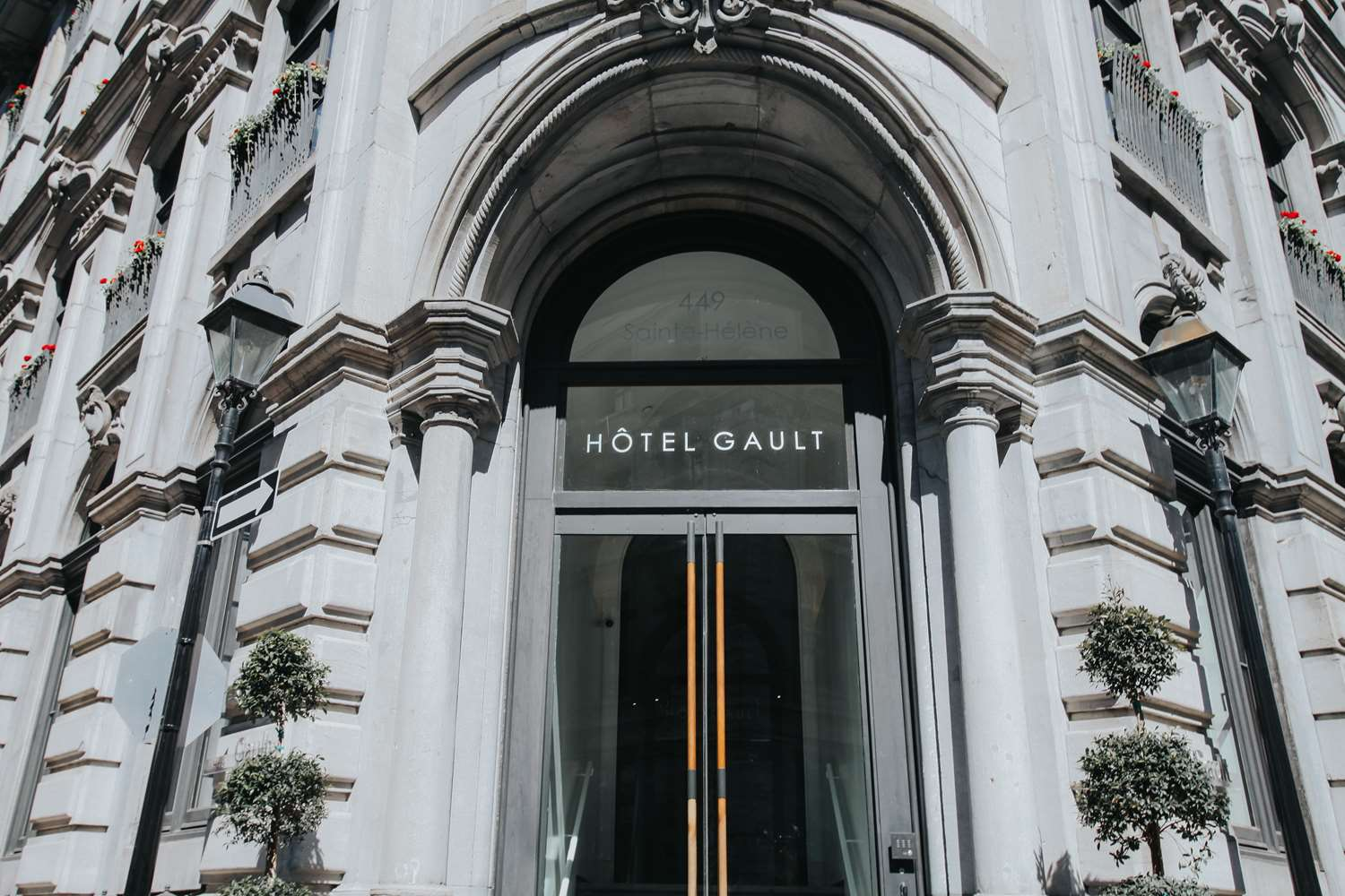 Exterior view - Hotel Gault Montreal