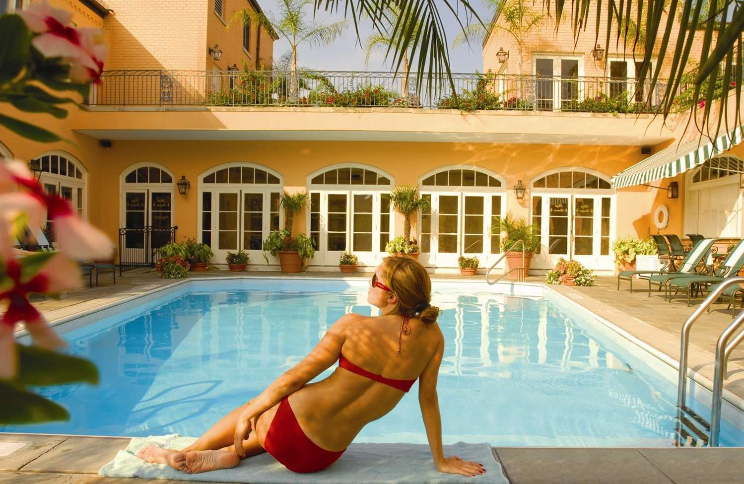 Pool - Hotel Monteleone New Orleans