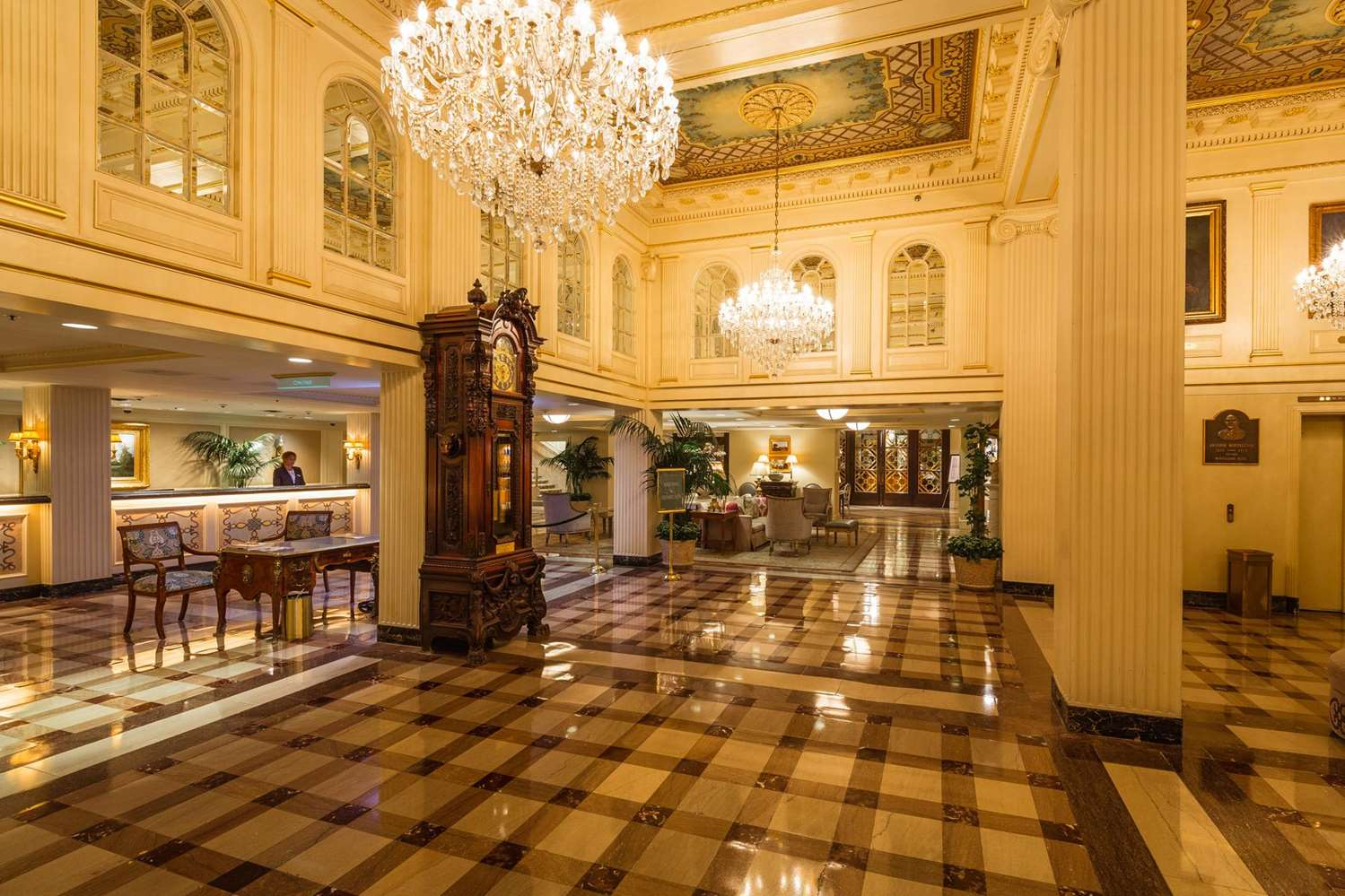 Lobby - Hotel Monteleone New Orleans