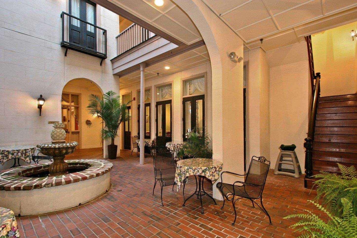 Lobby - Kings Courtyard Inn Charleston
