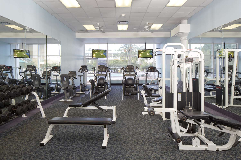 Fitness/ Exercise Room - Rosen Plaza Hotel Orlando