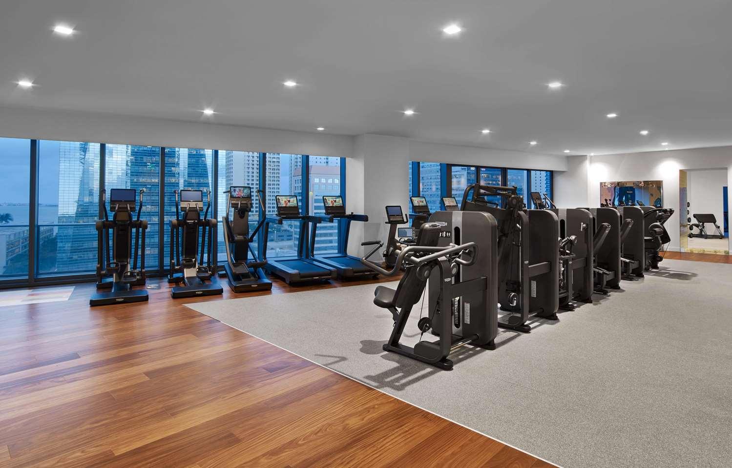 Fitness/ Exercise Room - SLS Hotel Residences Miami