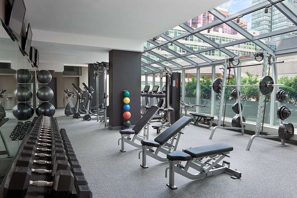Fitness/ Exercise Room - SoHo Metropolitan Hotel & Residences Toronto